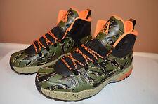 New Nike Men's Zoom MW Posite Foamposite Boots Shoes 616215-083 sz 10 Camo!