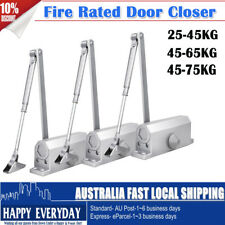 Automatic Fire Rated Adjustable Home Door Closer Suits 25-45 / 45-60 / 45-75kg