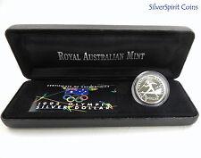 1992 $1  BARCELONA DOLLAR COIN FAIR Silver Proof Coin