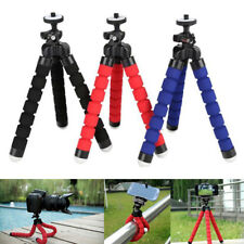 Tripod Flexible Stand Octopus GorillaPod Holder  For IPhone Gopro 6 5 Cellphone