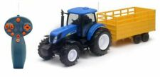 Remote Control New Holland T7070 Tractor & Trailer Scale Model 1:24 NEW