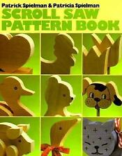 Scroll Saw Pattern Book by Patrick Spielman Woodworking Wood Shop Puzzles Animal
