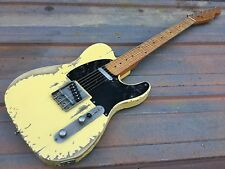 Relic Custom Tele Electric Guitar with Fender Standard Telecaster MIM Pickups