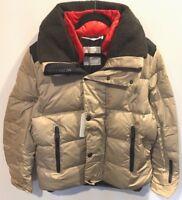 Moncler Men's Kobuk Giubbotto Down Jacket in Beige Size 5 XXL