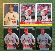 Adam Wainwright 2006 Cards (6 card lot) Cardinals