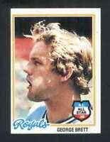 1978 Topps #100 George Brett NM/NM+ Royals 121170
