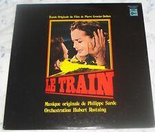 LE TRAIN (Philippe Sarde) rare original mint Japan stereo lp (1973)