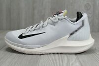 45 New Womens Nike Court Air Zoom Zero QS White Tennis Shoes Size 7.5 AR6532-001