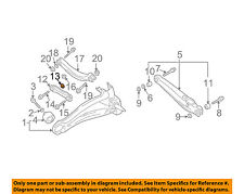 MITSUBISHI OEM 02-07 Lancer Rear Suspension-Lateral Arm Plate MR171026