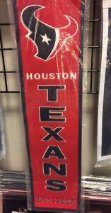 Houston Texans Heritage Banner- New