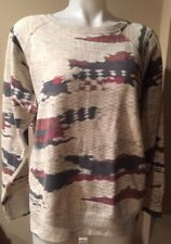 Isabel Marant Etoile SZ 44/12/L Hana Abstract Print Sweatshirt #1433