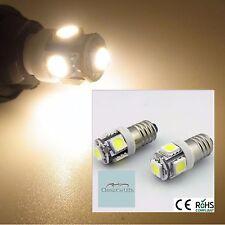 2x blanc chaud 24 volts 24V classic commercial led instrument jauge ampoules E10MES