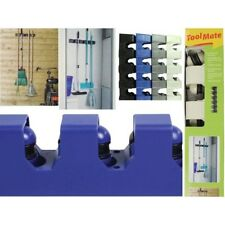 TOOL MATE GARAGE KITCHEN 5 TOOL HANGER BROOM  RACK TOOLMATE DARK BLUE BARGAIN