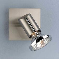 Wofi Wandleuchte Tex 1-flg Nickel Strahler Spot verstellbar Deckenleuchte Lampe