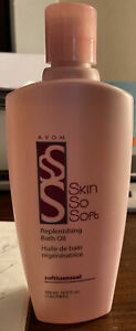 Avon Skin So Soft Replenishing Soft And Sensual Bath Oil-16.9 Oz
