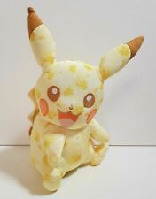"Pokemon 20th Anniversary Pikachu Plush Toy Official Tomy OPEN EYE 10"" Limited"