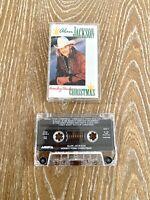 Alan Jackson Honey Tonk Christmas Cassette Tape 1993 Arista Records
