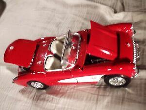 Franklin Mint 1957 Chevrolet Corvette 1:18 Diecast Car