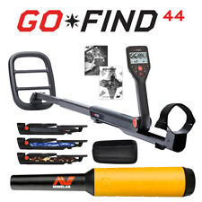 Minelab Go-Find 44 Metal Detector with Pro-Find 15 Pinpointer & Holster