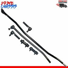 6 PC Steering Parts Ford F350 85-97 Center Link Tie Rod Ends Sleeves F-350 4WD