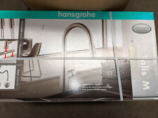 Hansgrohe Talis M HighArc Kitchen Faucet 04710800 Steel Optik