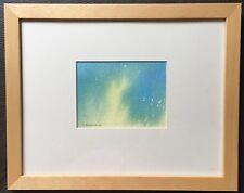 """ORIGINALE irlandese arte astratta dipinto ad Acquerello """"SUN Doccia"""" da T Morrison"""