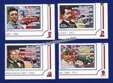 Postfrische Briefmarken mit Verkehrs- & Transport-Motiven aus Kongo