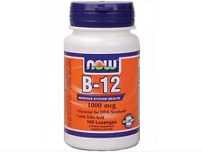 Vitamin B-12 1000 mcg 100 loz, Now Foods, Nervous System Health FAST SHIPPING