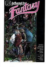 Pathways to fantasy #1 (Pacific Comics July 1984)
