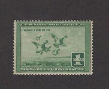 RW4 - Federal Duck Stamp.  MNH. OG.    #02 RW4mnhf