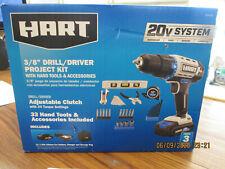 Hart Hppk01B 3/8'' Drill/Driver Project Kit (Bx)