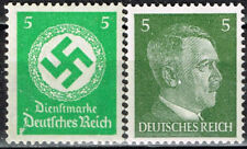 Germany WW2 Third Reich Symbols Hitler Swastika stamps 1942 MNH green