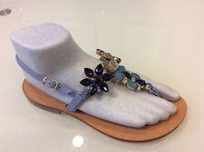 Don Alfonso Jeweled Capri Sandals