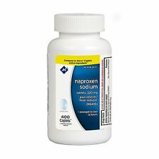 Member's Mark 220 mg Naproxen Sodium (400 ct.) Compare to Aleve for Pain