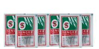 Singer Sewing Machine Needles 15x1 (2020) 20Needles each size #9,11,12,14,16,18