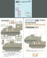 Echelon 1/35 #D356087 Australian 3rd CAV Rgt M113A1s (T50 tourelle) Vietnam Pt.1