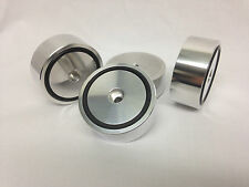 4 x ALUMINIUM isolating feet IF50-20AL-O for turntables and speaker !!!