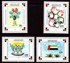 UAE 2005 ** 811/14 arte natura | Bambini disegni Children dipinti d'azione