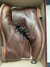 Wolverine 1000 Mile Brown Leather Lace Up Boots Size 10D 2x Used Quality Boots