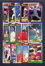 1990 Topps Baseball Cincinnati Reds TEAM SET w/ Traded MINT