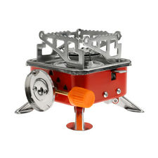 Outdoor Portable Square-Shaped Gas Butane Burner BBQ Grill Picnic Fuel Stove