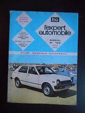 L'expert automobile n°163 03/1980 Toyota Starlet (tous types)