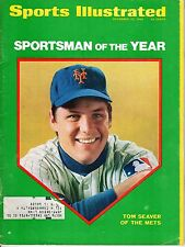 1969 12/22 Sports Illustrated, baseball magazine, Tom Seaver, New York Mets FLR