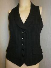 E-vie Viscose Collared Waistcoats for Women