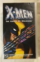 X-Men: The Legend Of Wolverine VHS 2003 Animated Compilation Buena Vista Release