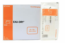 "Exu-Dry Absorbent Dressing 6""x9"", Non-occlusive, Full Absorbe, Non-adherent (12)"