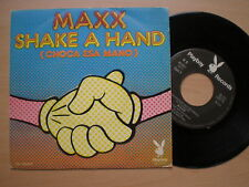 MAXX Shake A Hand SPAIN 45 1974 NM Playboy Records