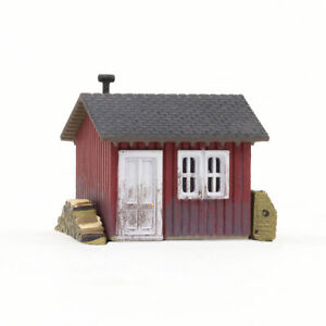 Woodland Scenics N Scale Built-Up Building/Structure Work Shed