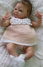 NATALIE Reborn Baby Doll KIT with cloth body and belly plate