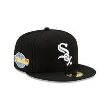 Мужские Chicago White Sox New Era черный 2005 Мировой серии логотип 59 Fifty Paisley шапка